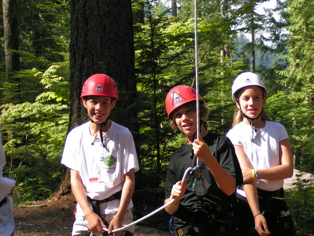 Loon Lake High Ropes